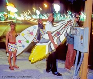 Danny Kwock 1980 in Newport Beach