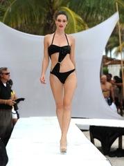 AZ Araujo show at Mercedes Benz Swim in Miami Photo by Frazer Harrison Getty Images for Mercedes Benz on fashiondailymag.com by Brigitte Segura