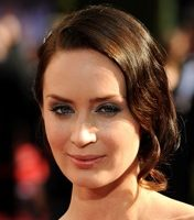 Emmy Awards 2010 Emily Blunt shines with Moroccan Oil on FashionDailyMag