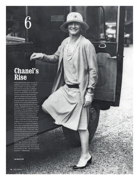 WWD 100 Remarkable Moments #6 Chanel on fashiondailymag.com brigitte segura