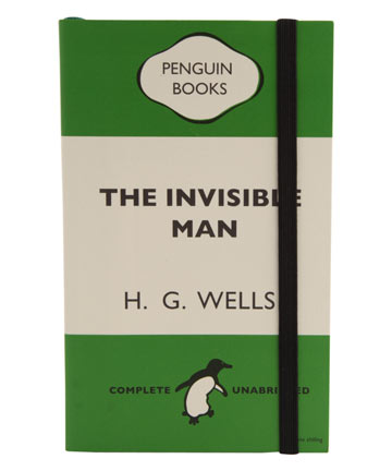 the INVISIBLE MAN book by HG wells at liberty on www.fashiondailymag.com