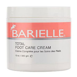 BARIELLE total foot care cream in SMOOTH the ROUGH SPOTS on FASHION DAILY MAG