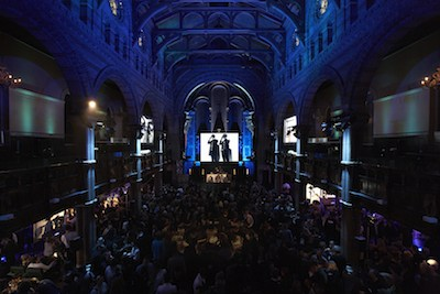 BLUE SO GOOD g-star raw london january 2011 photo courtesy of publicist on fashion daily mag