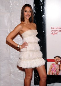 """Jessica Alba attendS the world premiere of """"Little Fockers"""" at Ziegfeld Theatre December 2010 NYC Photo Jamie McCarthy/Getty Images for Paramount Pictures in STYLE ICONS 2010 ON FASHIONDAILYMAG"""