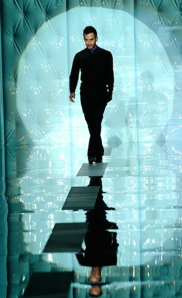 marc jacobs fall winter 2011-2012 Fernanda Calfat/Getty Images for Mercedes-Benz on fashion daily mag
