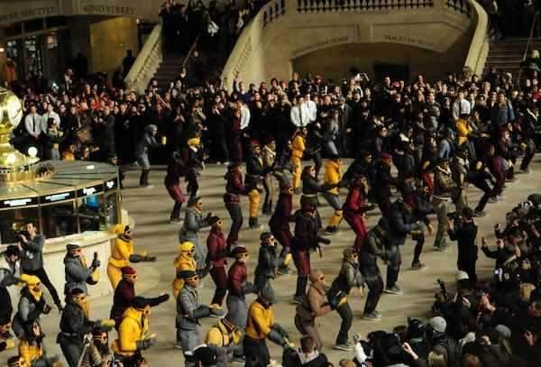 MONCLER GRENOBLE dancing away FALL 2011 photo by CHERVINE chervine.com on fashiondailymag.com brigitte segura