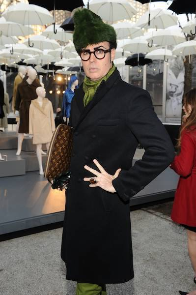 PATRICK McDONALD at ALLEGRI presentation during MB fashion week new york photo randy brooke on fashiondailymag.com
