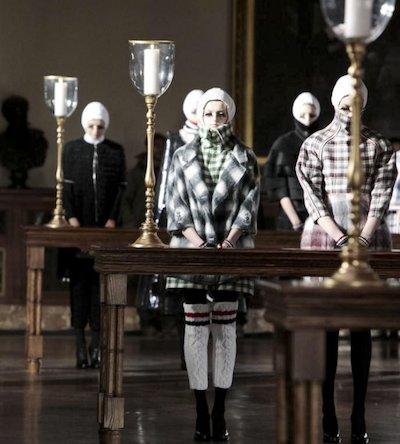 THOM BROWNE FW 2011 4 innovators PHOTO nowfashion.com on fashion daily mag brigitte segura