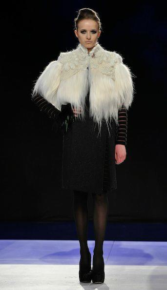 Bibhu Mohapatra Fall 2011 Photo by Stefan Gosatti/Getty Images for Mercedes-Benz on fashiondailymag