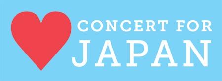 ConcertForJapan april 9 proceeds japan earthquake relief fund on FDM