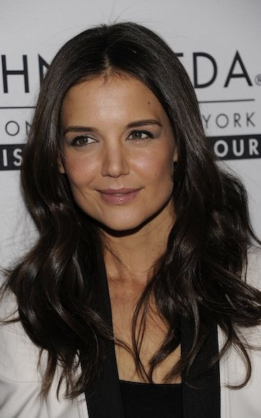 katie holmes portrait red carpet john freida photo publicist on FashionDailyMag