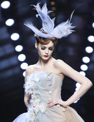 CHRISTIAN DIOR HAUTE couture spring 2011 selection brigitte segura photo 2nowfashion in bling on the hair trends