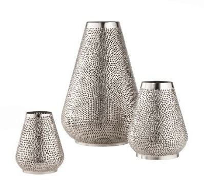 CALYPSO st barth x target metal 2 candle holders on FashionDailyMag