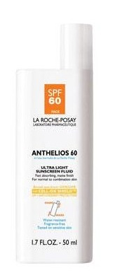 LA ROCHE-POSAY anthelios 60 ultra light sunscreen fluid at ThompsonChemists nyc in Sun Beauty on FashionDailyMag