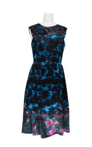 ERDEM abstract dress at colette on FashionDailyMag.com brigitte segura