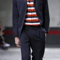 DRIES van NOTEN mens ss12 PARIS runway