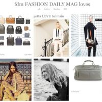 FDM quick fashion fix: BAGS the ROW