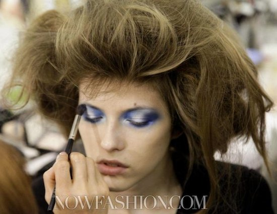 FASHIONDAILYMAG beauty backstage fw11 photo 6 photo NowFashion on FashionDailyMag