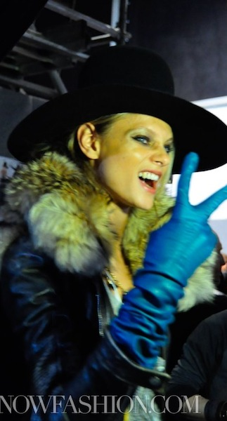Dsquared2 more leather + denim fall 2011
