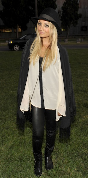 nicole richie at band of outsiders net aporter photo wireimage