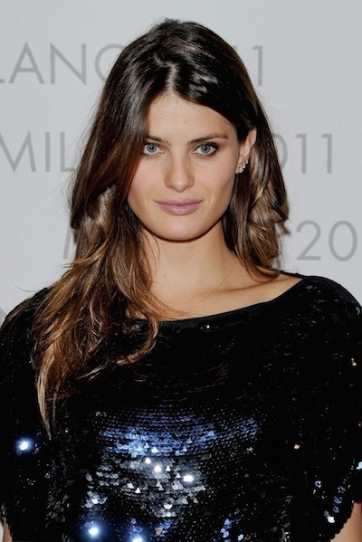 "Isabeli Fontana attends the Louis Vuitton ""The Art Of Fashion"" exhibition fashiondailymag"
