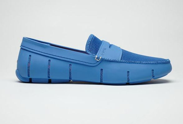 FashionDailyMag loves SWIMS waterproof loafers for MEN 1157