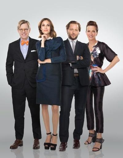 JAMES LAFORCE + cynthia rowley, derek blasberg ALEXA CHUNG 24hr catwalk FashionDailyMag