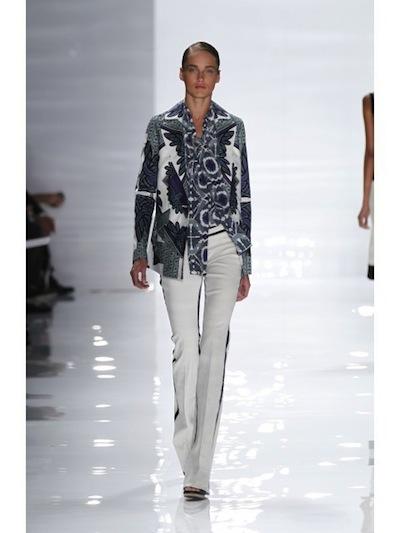 derek lam ss12 NYFW fashiondailymag sel 5 patterns brigitte segura