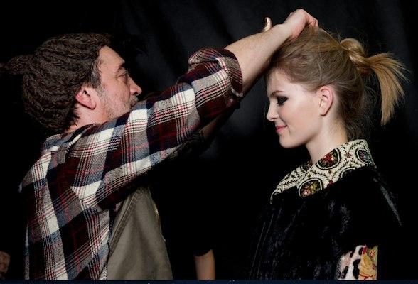 ANTONIO MARRAS FALL 2012 mfw hair by wella professionals fashion daily mag