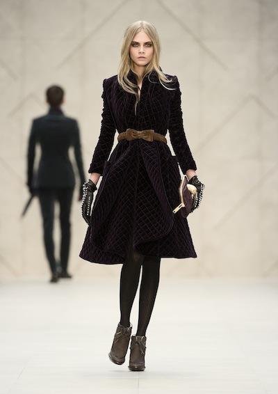 Burberry Prorsum Womenswear AW 2012