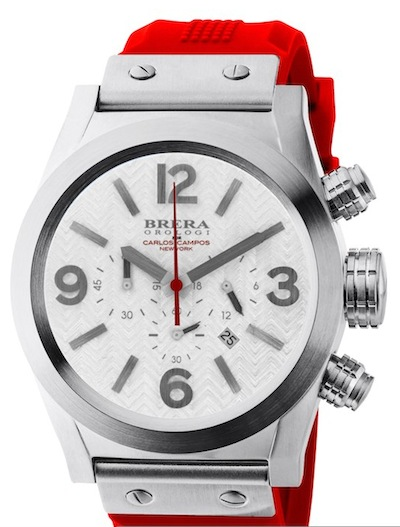 CARLOS CAMPOS red watch FashionDailyMag vday for the guys