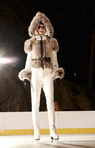 MONCLER GRENOBLE fw 2012 central park 4 NYFW fashiondailymag