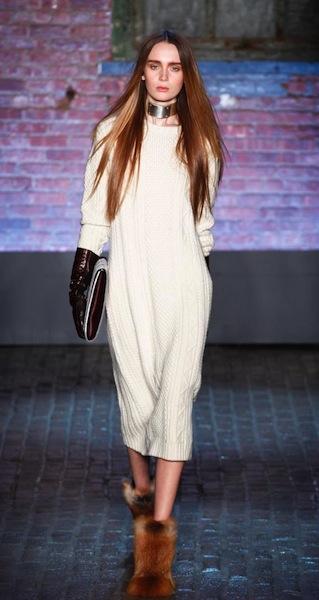YIGAL AZROUEL FW 12 NYFW fashiondailymag sel 6 brigitte segura
