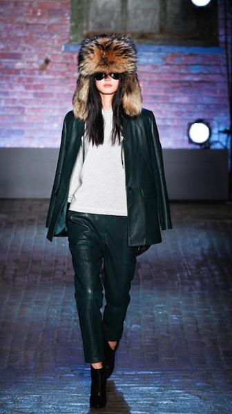 YIGAL AZROUEL FW 12 NYFW fashiondailymag sel 7 brigitte segura