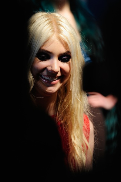 Actress Taylor Momsen at Concept Korea MBFW fw12 ph Andrew H. Walker GETTY images on FashionDailyMag