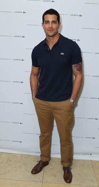 actor Jesse Metcalf at LACOSTE march 21 sunset tower ph GETTY | FashionDailyMag