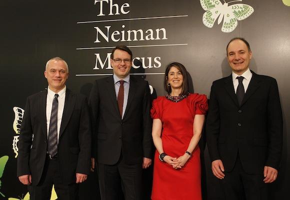 NEIMAN MARCUS goes CHINA Alain Soulas, Olivier Chouvet, Karen Katz, Thibault Villet on FashionDailyMag