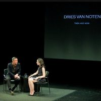 catching up with DRIES VAN NOTEN