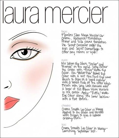 LAURA MERCIER BEAUTY FOR MARCHESA SPRING 2013 BRIDAL fashiondailymag