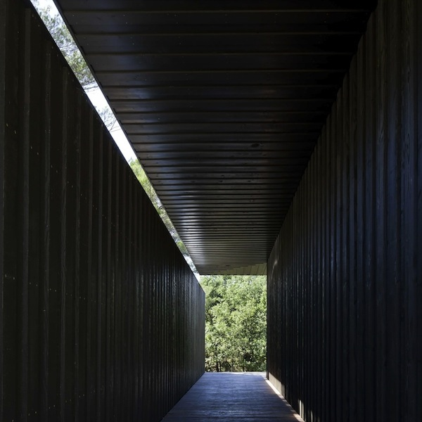TAAA Pavilion Chateau la Coste TADAO ANDO EXHIBITION milan at DUVETICA on FashionDailyMag