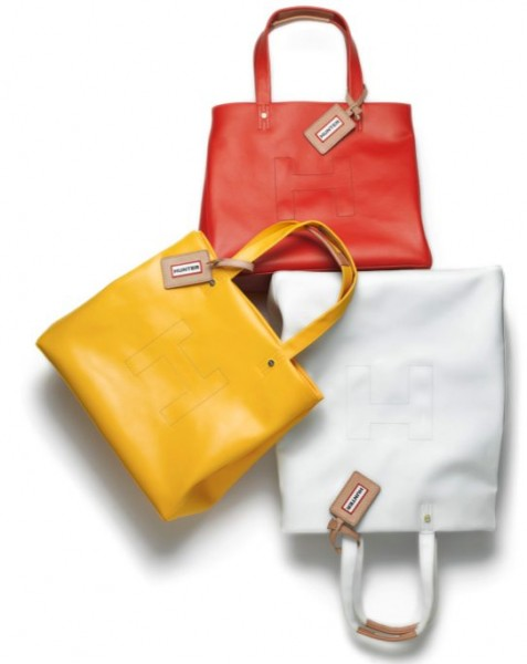 WELLIE BAGS by HUNTER on FashionDailyMag