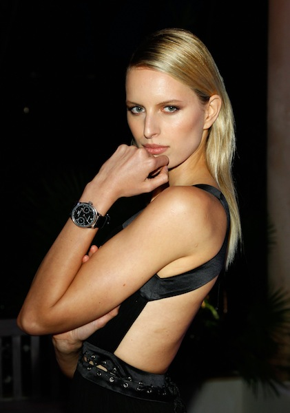 KAROLINA KUROKOVA at IWC Filmmakers Dinner At Eden Roc CANNES on FashionDailyMag