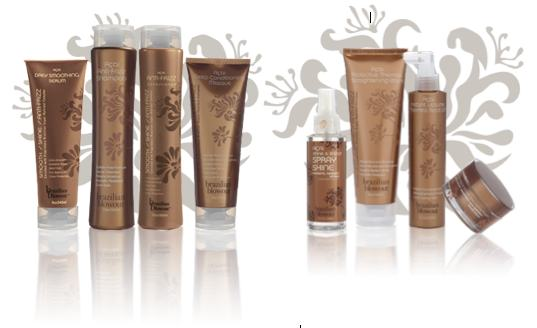 BRAZILIAN BLOWOUT acai hair after care products