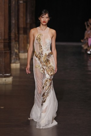 Basil Soda Fall 2012 Haute Couture fashiondailymag selects Look 13