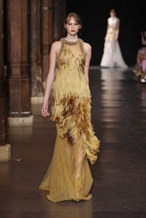 Basil Soda Fall 2012 Haute Couture fashiondailymag selects Look 14