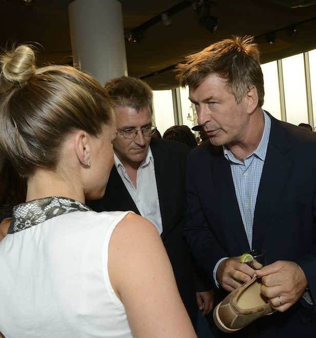 ALEC BALDWIN at UGG launch of fall on FashionDailyMag