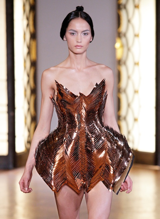 IRIS van HERPEN avant gardiste HAUTE COUTURE for fall 2012