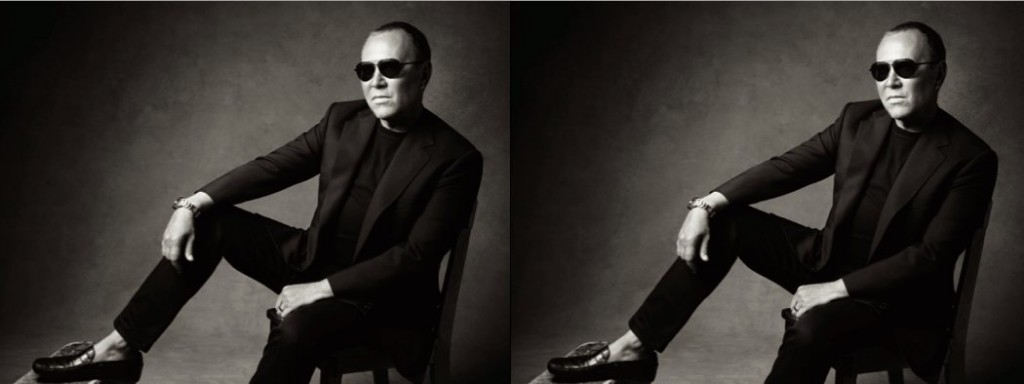 MICHAEL KORS talks numbers for harpers bazaar august 2012 on FashionDailyMag