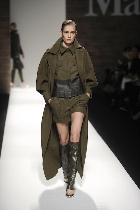 MaxMara fall 2012 fashiondailymag sel look 2