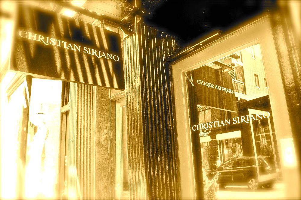 CHRISTIAN SIRIANO opens SoHo store